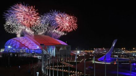 Sochi Olympics Opening fireworks